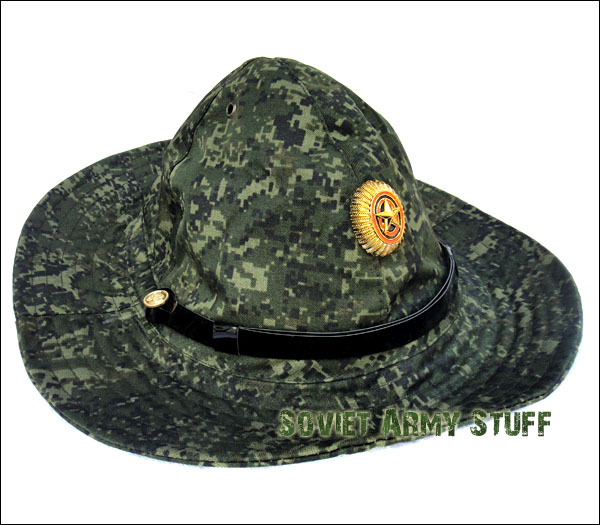 Russian Army Military Afghanistan War Type Boonie Hat Panama DIGITAL FLORA CAMO