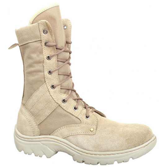 Russian Military Light Desert Boots