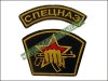 Russian Spetsnaz Uniform Sleeve Patch Set AK-47 Fist