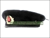 Russian Military Uniform Beret Black + Badge