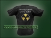 Chernobyl Atomic Power Station Embroidered T-Shirt