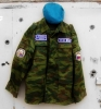 Russian Army VDV PARATROOPER Camo Uniform Suit FLORA with Patches