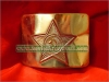 Soviet Army Military Uniform Belt Buckle GOLD Star