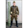 Complete Soviet Russian Army Soldier Uniform Suit WW2