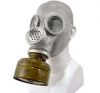 Soviet GP-6 Latex Rubber Gas Mask - Grey (PMG-2)