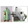 OZK Soviet Chemical Protection Hazmat suit + PMG Gas Mask