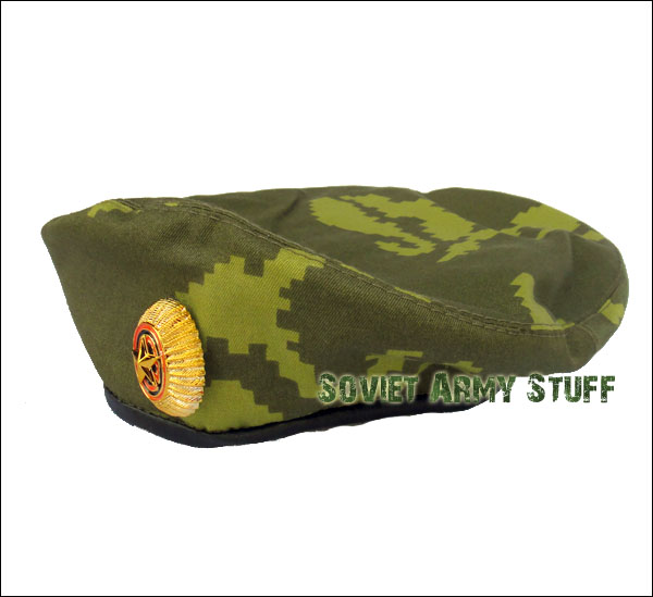 Russian Army Military BDU Uniform Beret BERYOZKA CAMO + Badge Spetsnaz hat