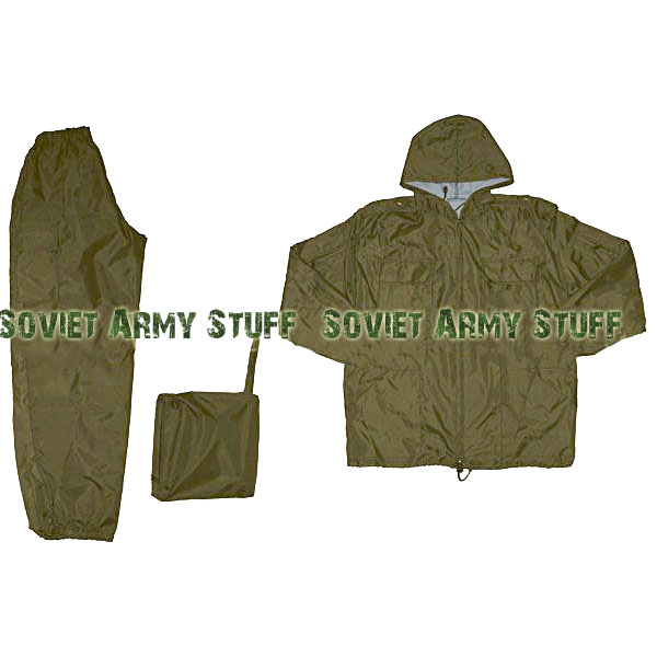 Wind & Waterproof Uniform Camo Suit Plane Olive Khaki Brown camo cagoule