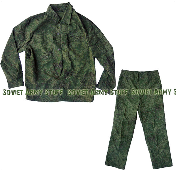 Russian Army Uniform Suit BDU Jacket And Pants Digital Flora Yudashkin